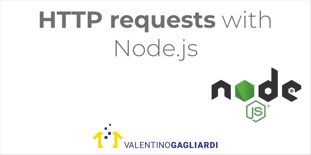 HTTP requests with Node.js
