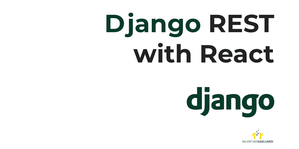 Django REST with React