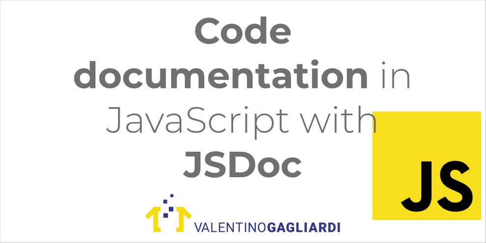 Code Documentation for JavaScript With JSDoc